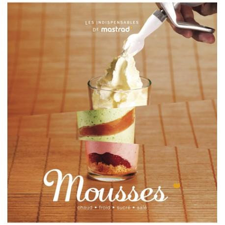 Livre de recettes pour siphon Les mousses de Mastrad