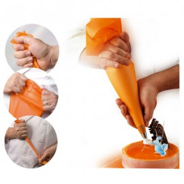Poche à douille silicone L 26 cm