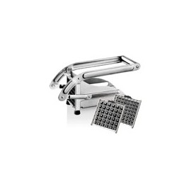 Coupe-frites inox 2 grilles
