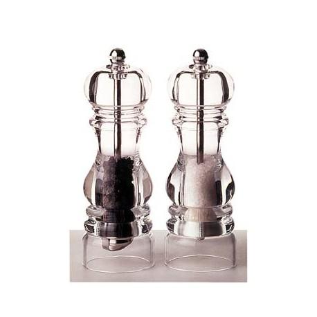 Moulin à sel acrylique Nancy de Peugeot 12 cm
