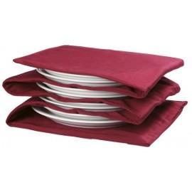 Chauffe assiettes électrique en tissus