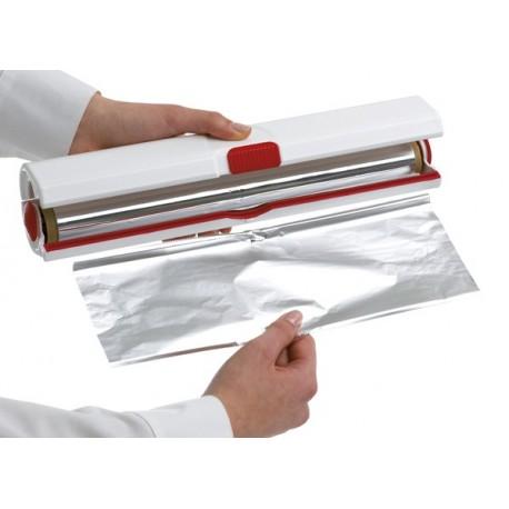 D rouleur coupe film ou papier alumium emsa la carpe - Derouleur papier alu ...