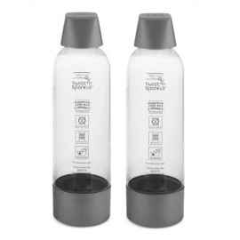 Set de 2 bouteilles de rechange pour siphon Twist'n Sparkle