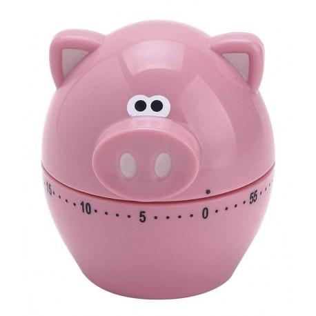 Minuteur mécanique Cochon