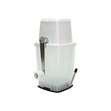 Broyeur à glace manuel professionel pour coktail ou plateau de fuits de mer