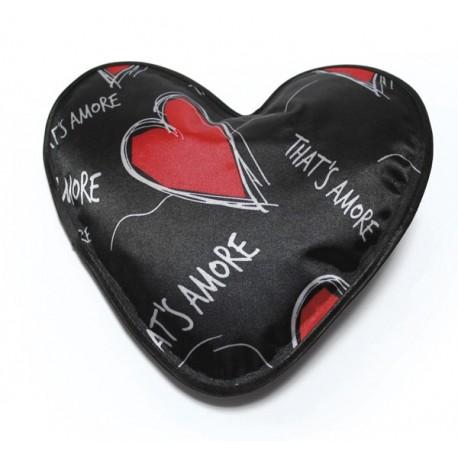 Chaufferette à accumulation forme de cœur