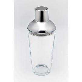 Shaker en verre et inox