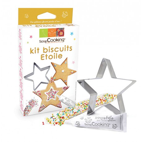 Kit biscuits étoile ScrapCooking