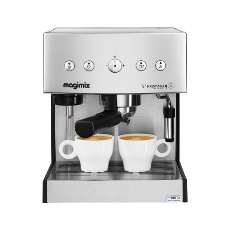 Cafetière l'Expresso Automatique inox mat Magimix