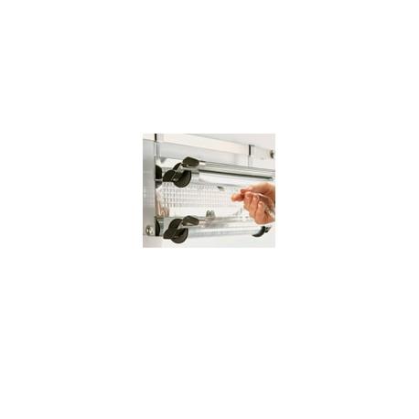 Dérouleur double aluminium et film Rôsle inox 18/10